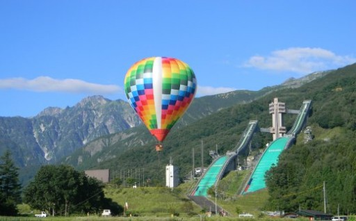 熱気球に乗って紅葉を楽しんでみませんか?