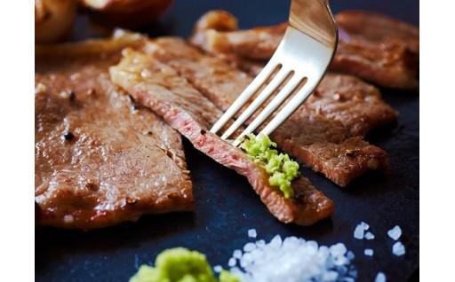 飛騨牛のサーロインステーキ