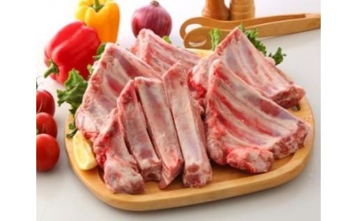 【桃豚】国産ブランド豚スペアリブブロック2kg!