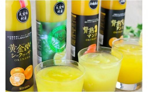 沖縄果実の贅沢フレッシュジュース8本セット
