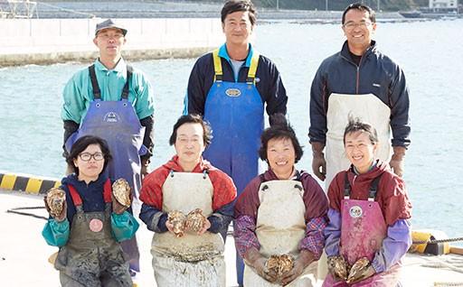 冬の味覚を味わって!陸前高田広田湾の牡蠣
