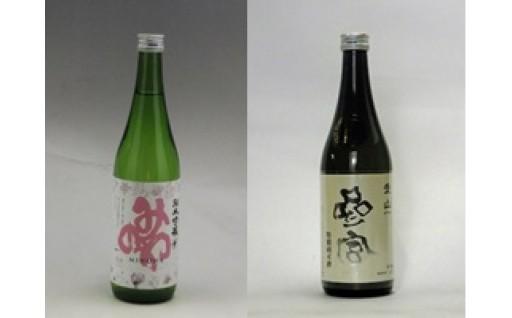 【地域限定】みのわ純米吟醸・参宮 特別純米愛山