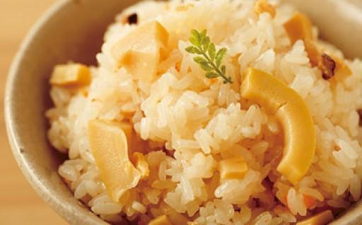 米を食べよう♪ヒノヒカリとたけのこおこわセット