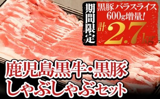 しゃぶしゃぶがうまい!黒牛と黒豚食べ比べ!
