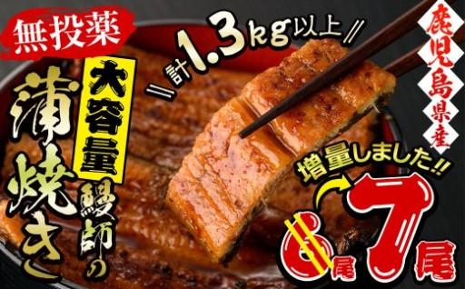 【無投薬】鰻師の蒲焼 186g以上7尾!!」