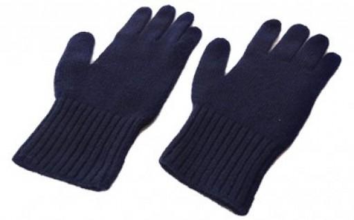 職人の手動編み カシミア100%ニット手袋