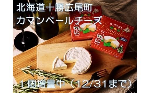 カマンベールチーズ1個増量中です!!