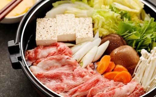 天草黒牛 肩ロース・モモ肉すき焼き用