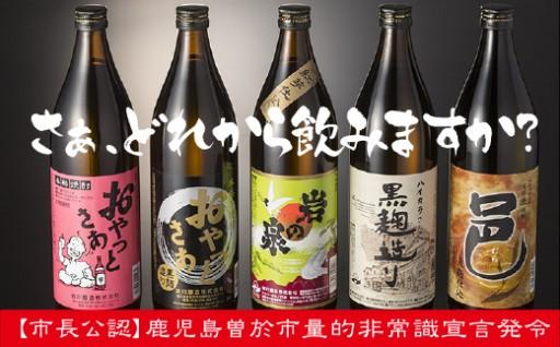 岩川特選飲みくらべセット!たっぷり5本も届く!