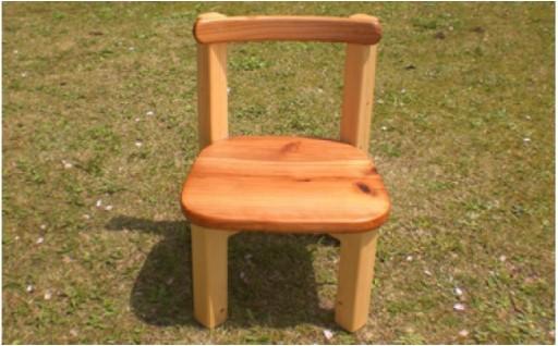 ほっこり子供椅子