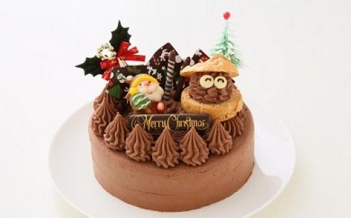 クリスマスケーキ2018チョコガナッシュ