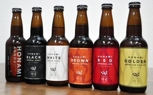 【様々な味を楽しみたい!】6種のクラフトビール☆