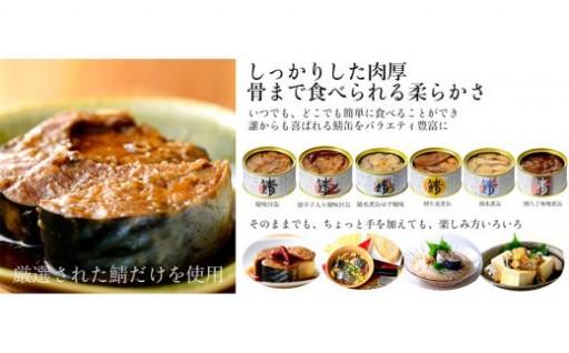 鯖缶詰★6種詰合わせ