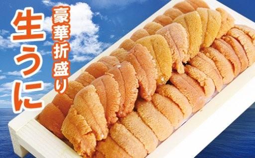 【北海道根室産】エゾバフンウニ130g×1折