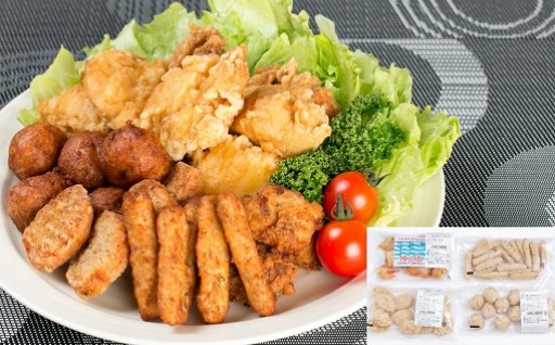 ★徳島県産神山鶏使用・鶏肉加工品セット★