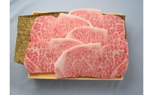 ほっぺたが落ちそう!薩摩牛サーロインステーキ