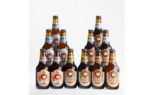 常陸野ネストビール 12本セット[髙島屋選定品]