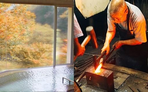 【必見!】温泉宿泊付き包丁づくり体験