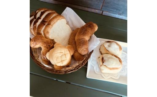 アメリカ焼き菓子専門店のかわいくおいしいパン♪