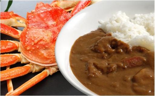 蟹カレーセット&すきやき風味の牡蠣どんぶり