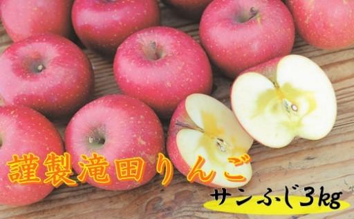 【期間限定】花巻産謹製滝田りんご!