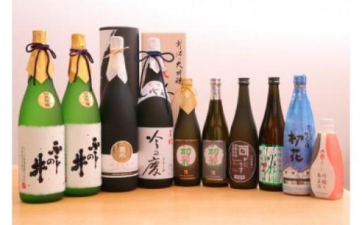 新潟県新発田市4蔵元の日本酒定期便期間限定で受付