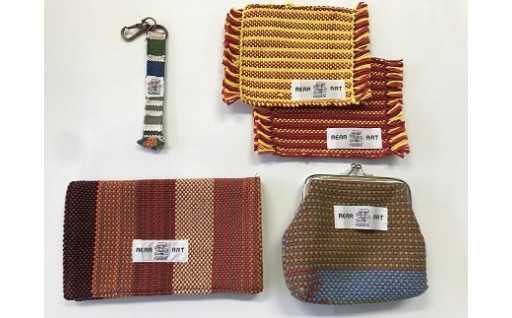 個性的なデザイン!さをり織りセット