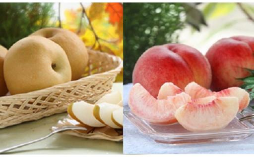 【数量限定】桃と梨のリレー好評受付中!