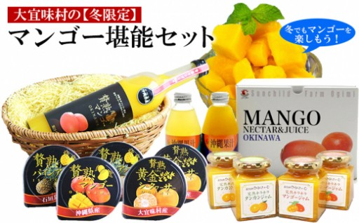 冬もマンゴー!【冬限定】大宜味マンゴー堪能セット