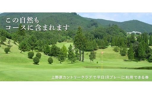 【リフレッシュ!】ゴルフプレー利用券