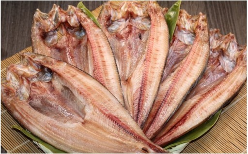 ほっけという 咲(裂)き開(墾)かれた 北の魚味