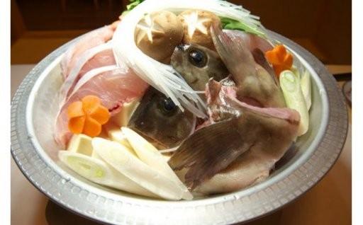【長崎県対馬産】魚の王様 クエ鍋1.5kgセット