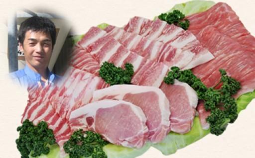 大好評!喬木村の豚肉《くりん豚》バラエティセット