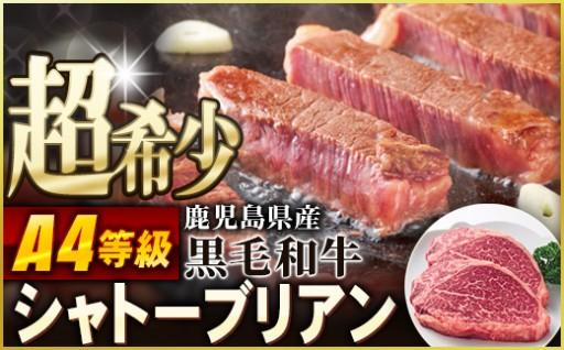 超希少!【A4等級】黒毛和牛シャトーブリアン