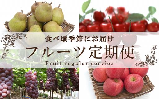 果物を旬の時期にお届け!【フルーツ定期便】