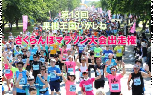 6月2日開催!さくらんぼマラソンを走りませんか?