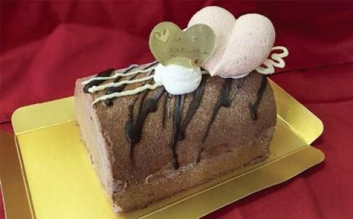 加藤牧場 バレンタインジャンドゥーヤアイスケーキ