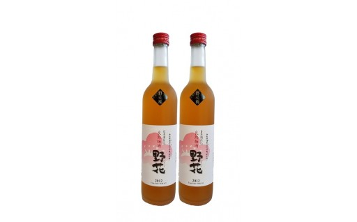 湯梨浜産『野花梅』を使った作った良熟梅酒