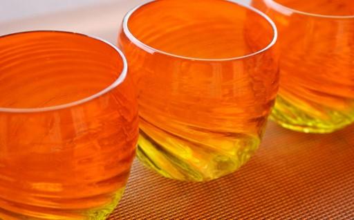 琉球ガラス(グラス5個セット)グラデーション