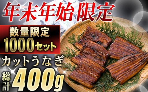 鹿児島県大隅産『カット』うなぎ蒲焼5枚400g