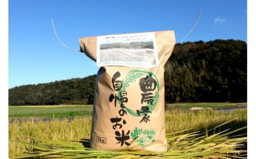 築上町産レンゲ栽培米「夢つくし」は数量限定です。