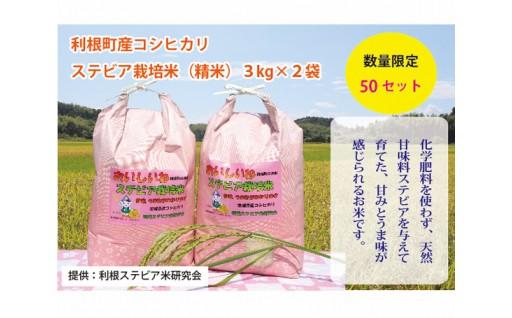利根町産『ステビア栽培米』をご紹介いたします♪
