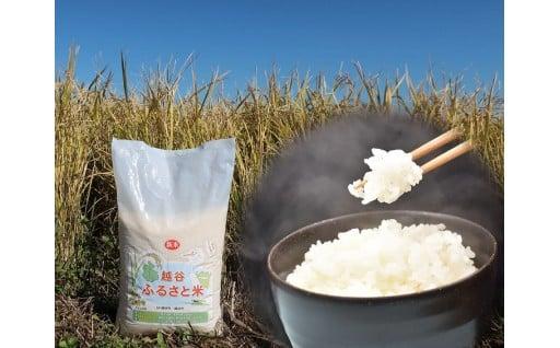 越谷ふるさと米
