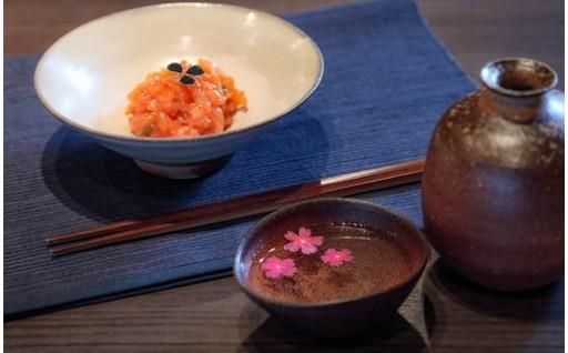 【特別な日に】奥出雲の銘酒と食べれるお花セット