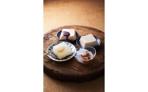 葛もち、胡麻豆腐、葛きりセット