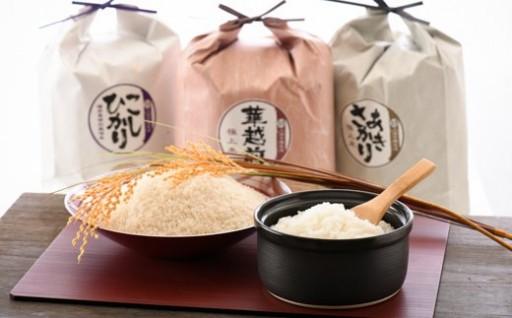 【限定】お米屋さんのこだわり極上米食べ比べセット