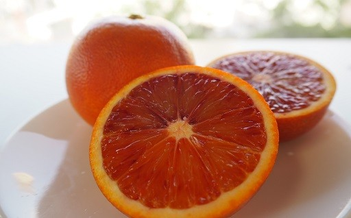 国内シェア90%以上!宇和島産ブラッドオレンジ♪