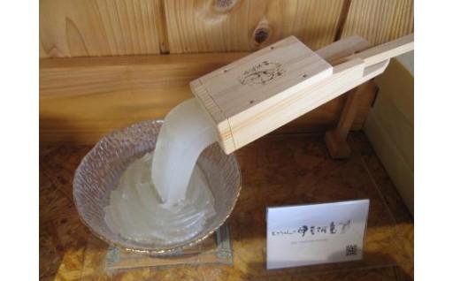 柿田川名水ところてん6食とひのきつき棒セット