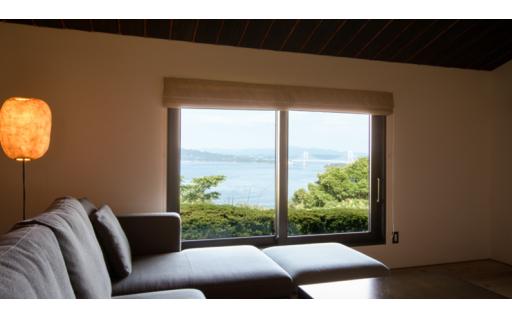 鳴門海峡を一望にするわずか10室の大人の隠れ家!