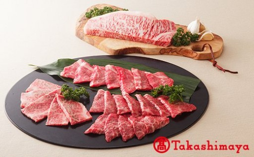 [高島屋選定品]黒樺牛焼肉セット大関 約750g